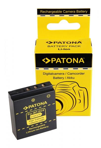 Battery f. Leica BP-DC8 leica X1 leica X2