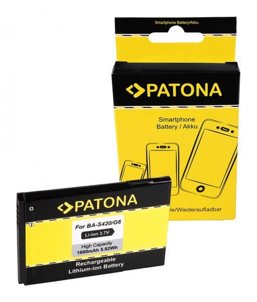PATONA Akku f. HTC BA-S420 HTC 7 Trophy A3333 A6363 T8686 T8689 BA-S440
