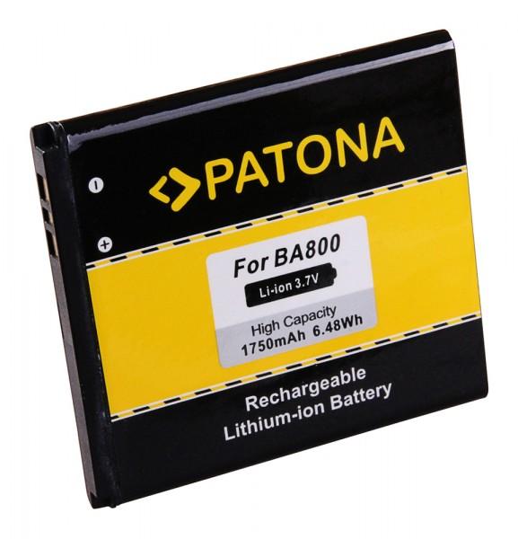 PATONA Akku f. Sony Ericsson XperiaC LT25i LT26i S BA800 SP50KERA10