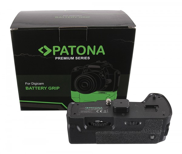 PATONA Premium Battery Grip f. Panasonic DMW-BGG1RC G80 G85 f. 1 x DMW-BLC12 batterie incl. 2,4G wireless control