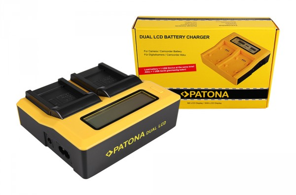 Schnell Ladegerät fuer NIKON Coolpix 4500 mit Micro USB Plug