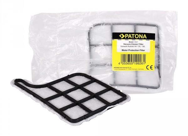 PATONA motor protection filter f. Vorwerk Kobold VK135 VK136