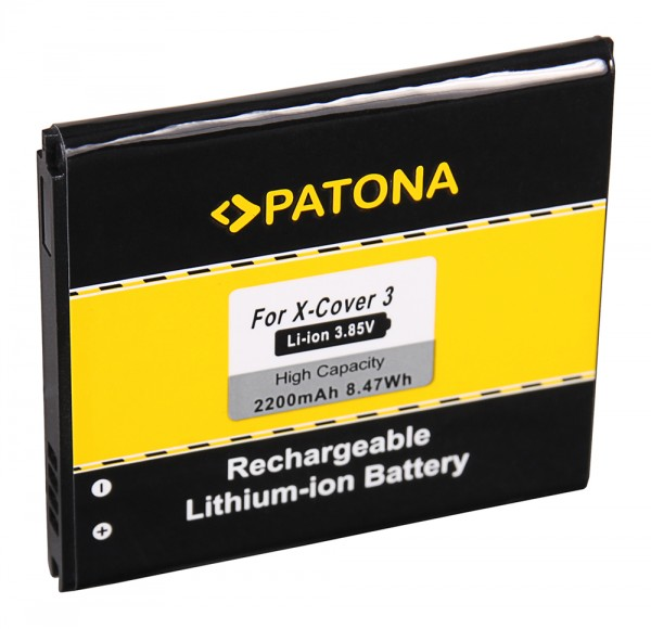 PATONA Batterie pour Samsung Xcover 3 Xcover 3 3 VE G3884 G389F