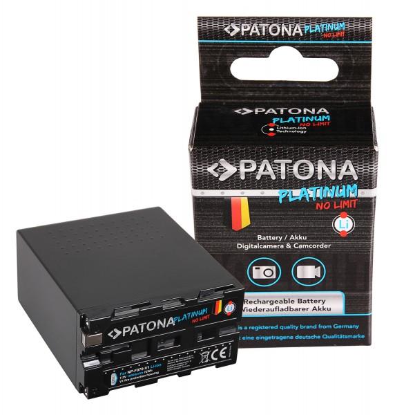 PATONA Platinum Akku f. Sony NP-F970 NP-F960 NP-F950 mit Tesla-Zellen im hitzeresistenten V1 Gehäuse