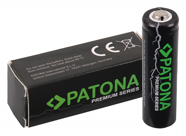 PATONA Premium 14500 ICR14500 cell Battery Li-Ion