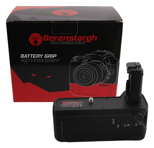 Berenstargh Battery Grip for Sony A7 II, A7M2 A7R2 VG-C2EMRC for 2 x NP-FW50 batteries incl. 2,4G wireless control