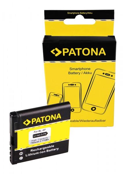 PATONA Battery f. Nokia BL-6P Nokia 6500 Nokia 6500c Nokia 7900 Prism