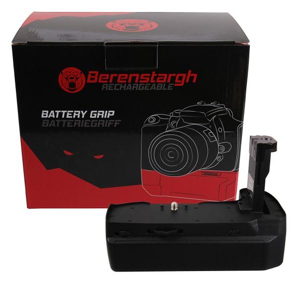 Berenstargh Batteriegriff für Blackmagic 4K 6K für 3 Akkus LP-E6N inkl. USB C Netzteil
