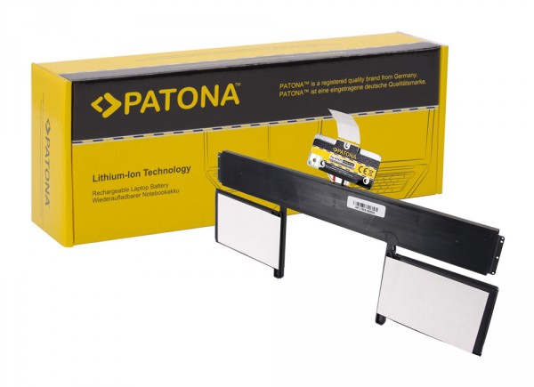 PATONA Battery f. Apple MacBookpro 10.2 A1437 2012-2013, MD212, MD21313.3, MD212xx, ME662xx