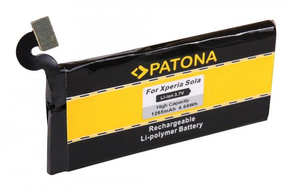 PATONA Batterie pour Sony Ericsson Ericsson Xperia Sola Xperia MT27i Sola
