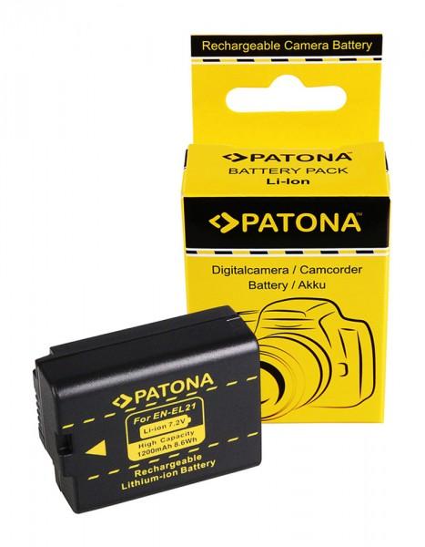 PATONA Akku f. Nikon EN-EL21 ENEL21 Nikon V2