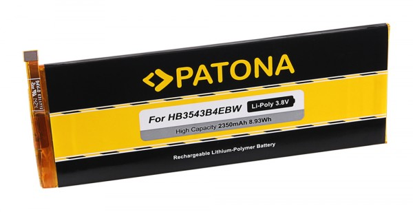 PATONA Akku f. Huawei Ascend P7, L09, L00, L10, L05, L11, HB3543B4EBW