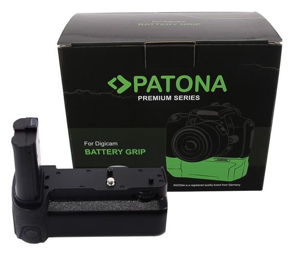 PATONA Premium Batteriegriff MB-N10 für Nikon Z5 Z6 Z7 für 2 x EN-EL15b Akku inkl. Fernbedienung