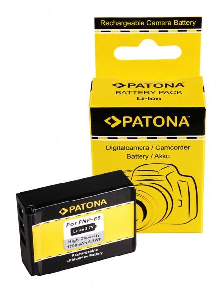 PATONA Akku f. Fuji NP-85 Fujifilm Finepix F305 SL240 SL260 SL280 SL300