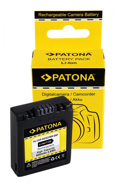 PATONA Akku f. Panasonic DMW-BM7 FZ20 FZ10 FZ4 FZ5 CGA-S002E