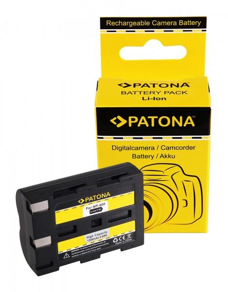 PATONA Battery f. Minolta NP-400 Dimage A1 Dimage A2 Dynax 5D Dynax 7D