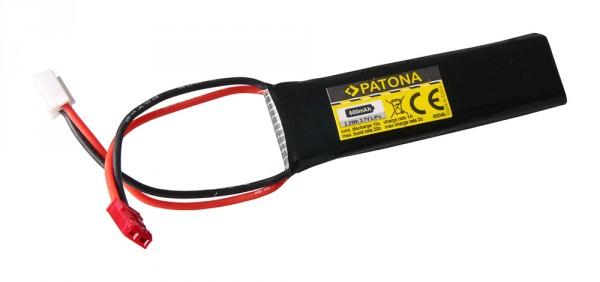 PATONA RC Battery 3,7V 600mAh JST Li-Polymer für UDI RC U818A 3D UFO
