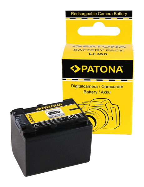 PATONA Battery f. Sony HDR-XR150 HDR-XR150E HDR-XR350 HDR-XR350V