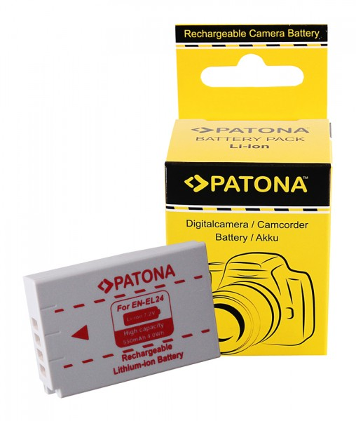 PATONA Battery f. Nikon 1 J5 EN-EL24 ENEL24