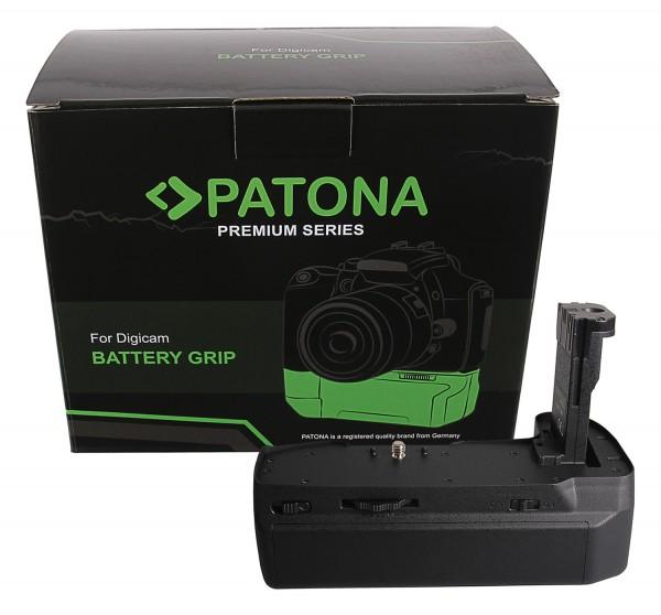 PATONA Premium Batteriegriff für Blackmagic 4K 6K für 3 Akkus LP-E6N inkl. USB C Netzteil
