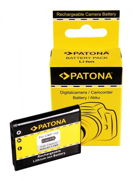PATONA Battery f. Casio NP110 Casio Exilim EX-Z2000 EX-Z2300 EX-Z3000